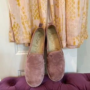 Sam Edelman Dusty Rose Espadrilles
